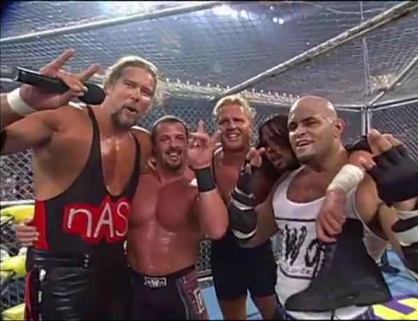Curt Hennig Leaves The Four Horsemen to go nWo