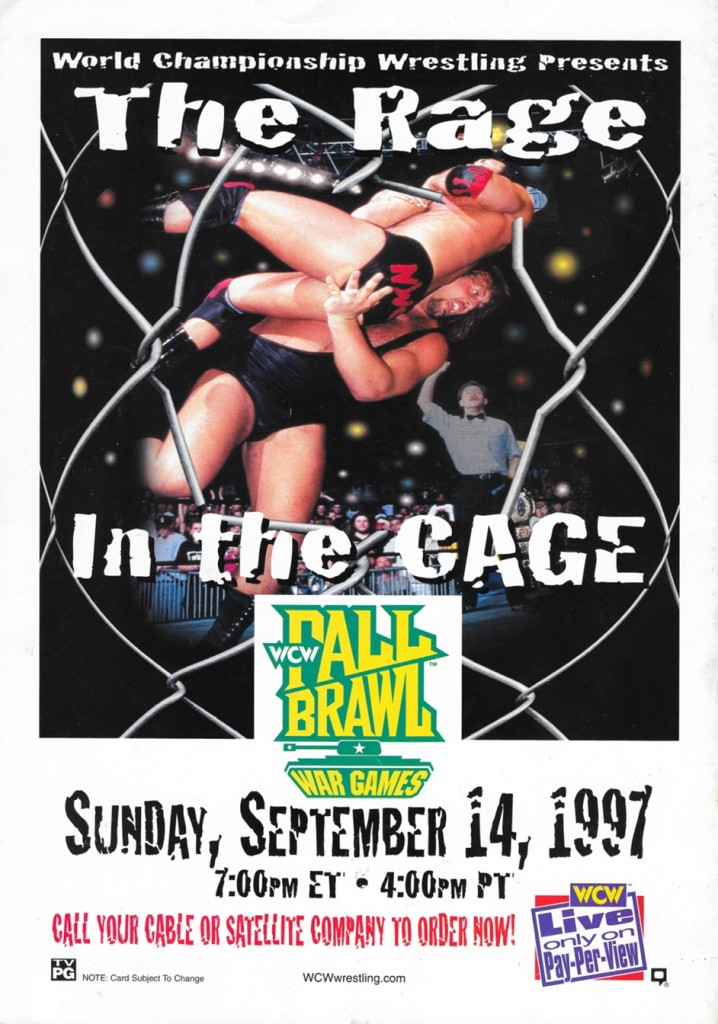 WCW Fall Brawl 1997 Advert