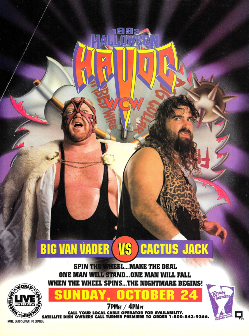 Happy Halloween! Full Gallery of Every WCW Halloween Havoc Poster ...