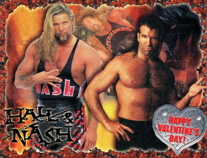 Wcw Valentines Day Cards 1999 2000 Wcw Worldwide