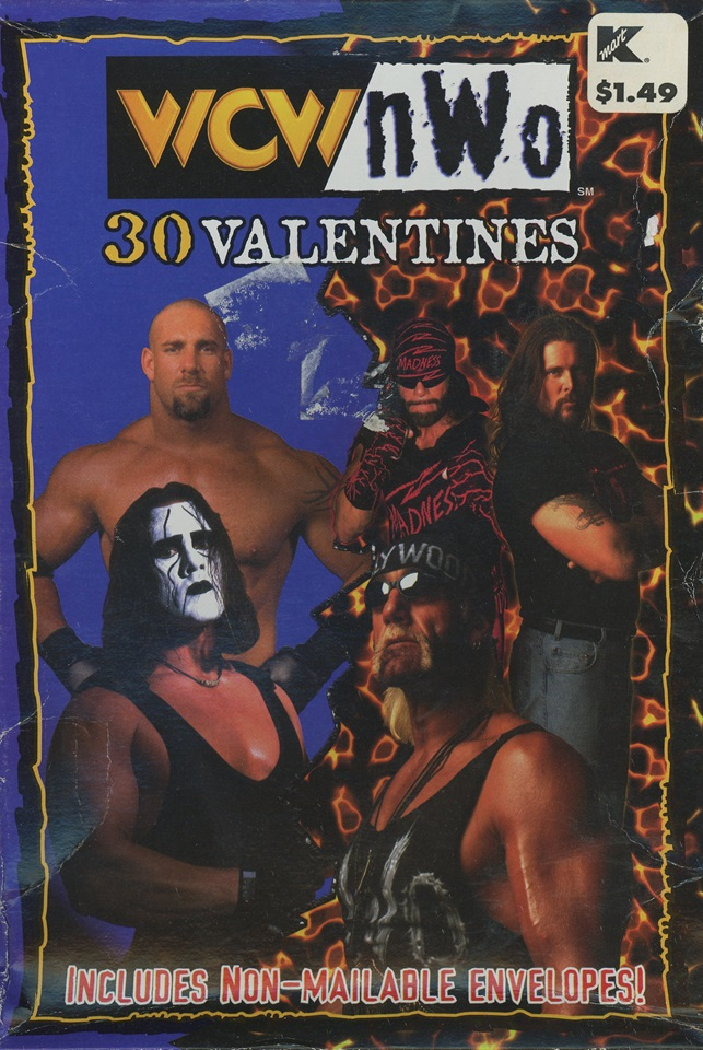 Complete Collection Of Wcwnwo Valentines Day Cards 1998 2000